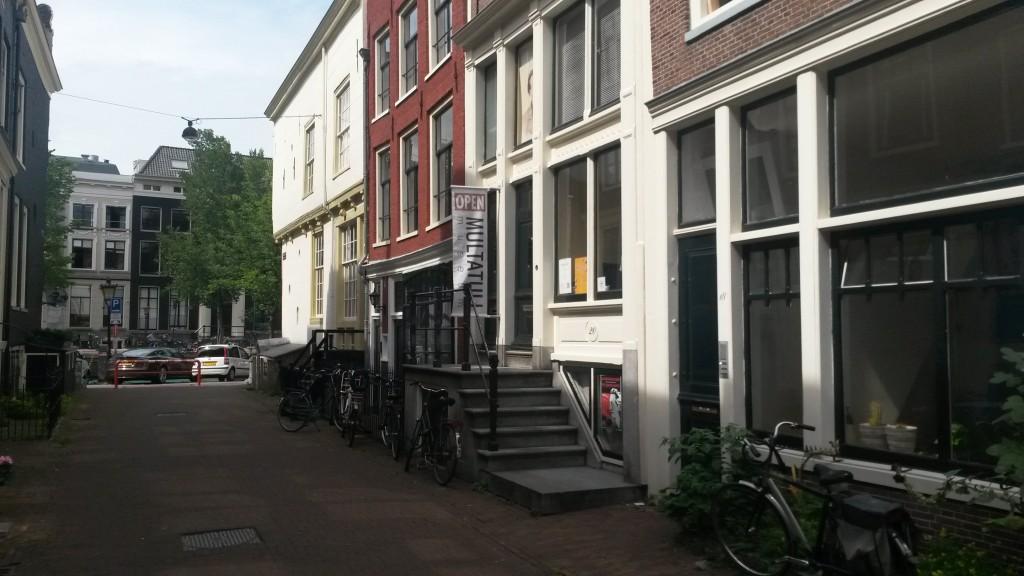Multatuli huis i Amsterdam