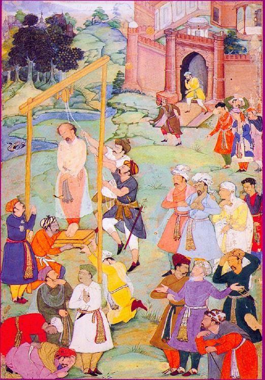 a-Hallaj avrättas år 922 för hädelse.