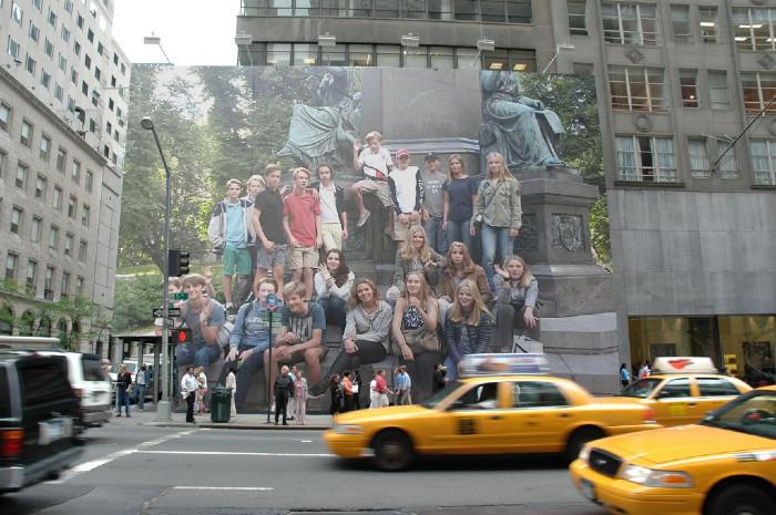 Klass 8D i New York
