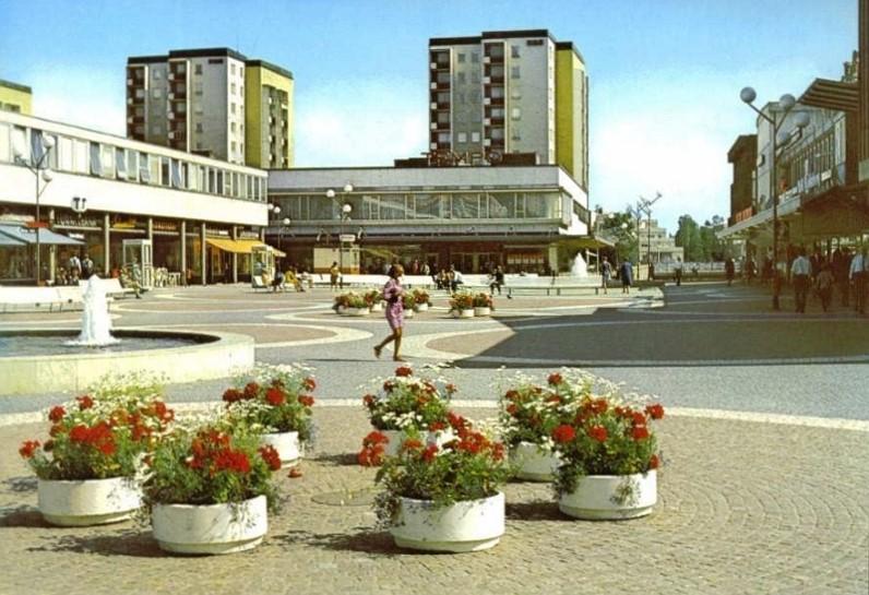 Vällingby centrum 1960-tal